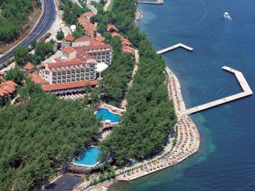 Grand Yazici Marmaris Palace - от птичи поглед