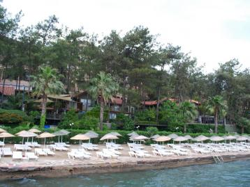 Grand Yazici Marmaris Palace - палж